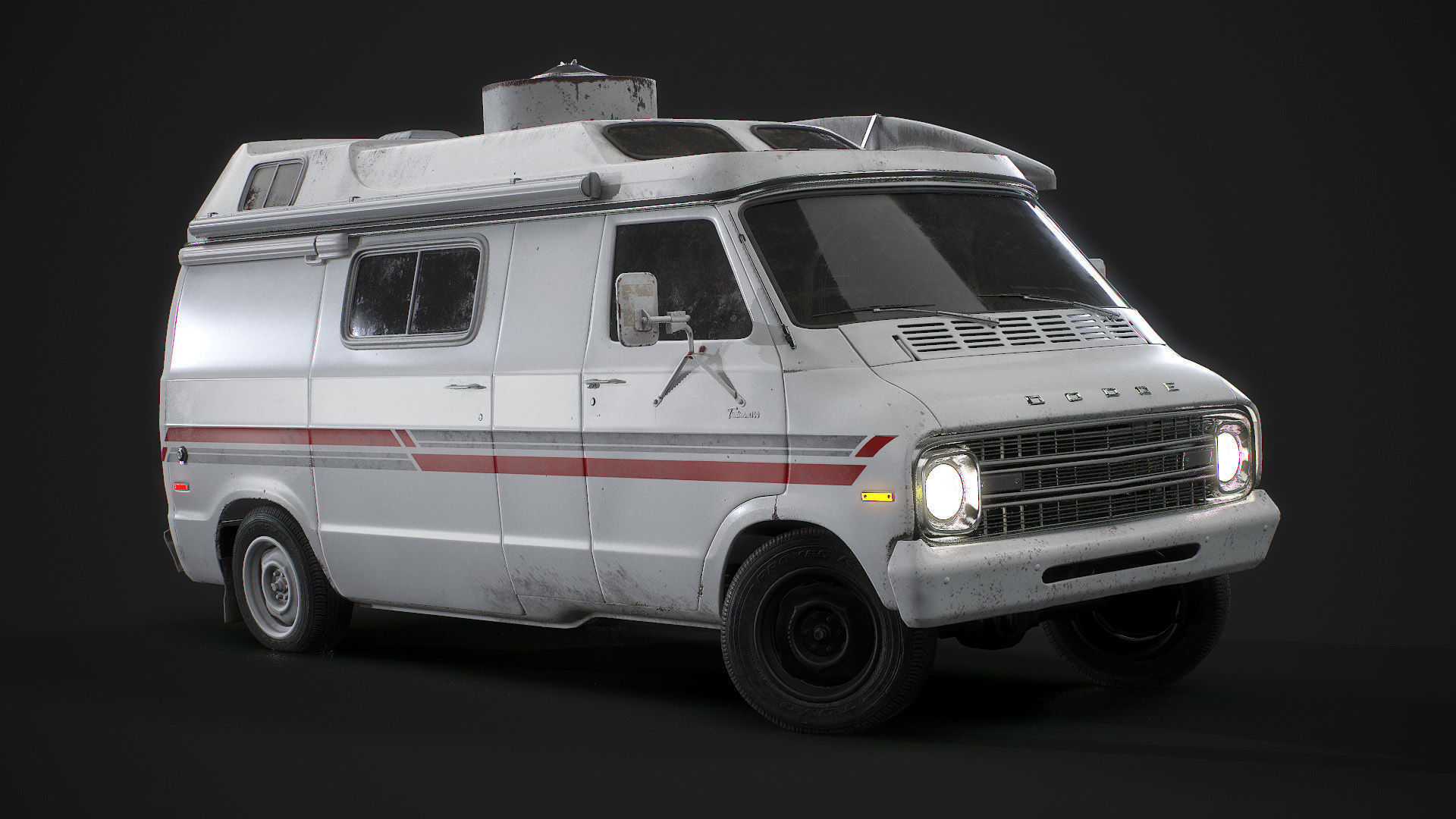 1967 Dodge Tradesman B100 Games Model
