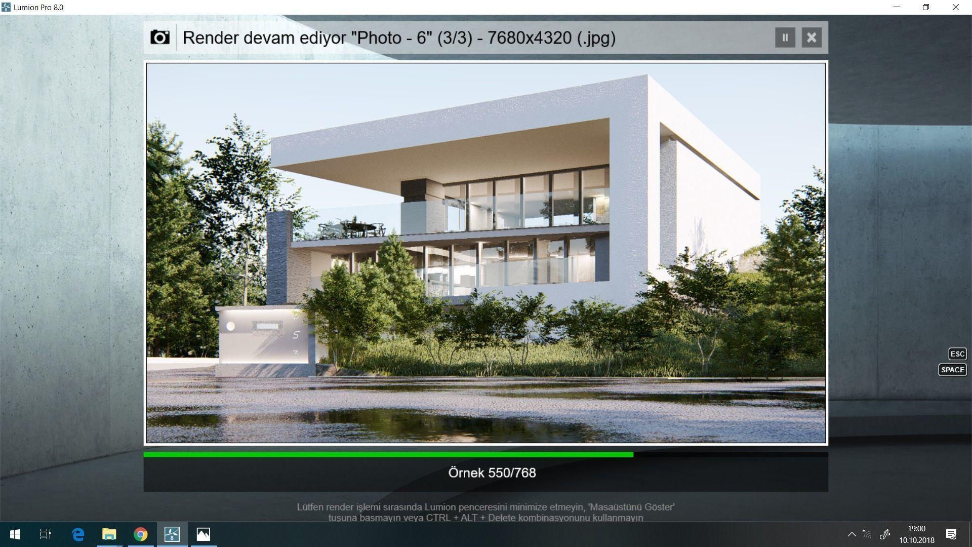 lumion 8 full scene model with setting realistic lighting | 3D model