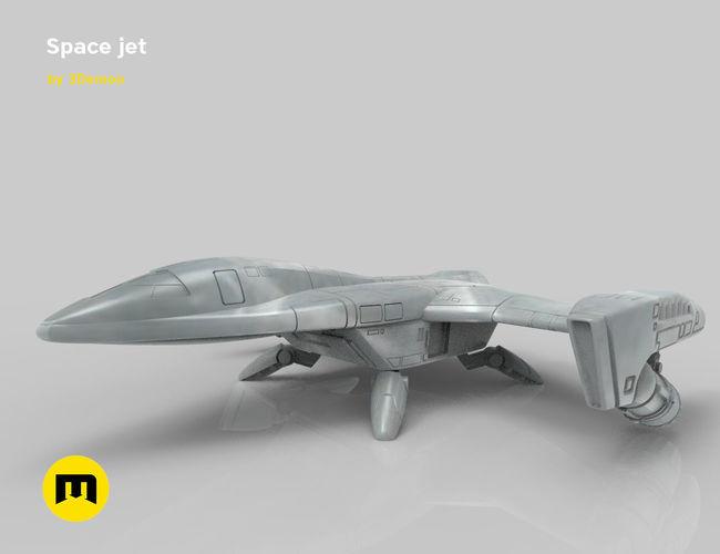Fantasy Space Jet