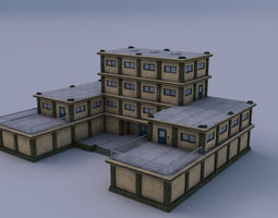 realtime headquarter 03 3d asset