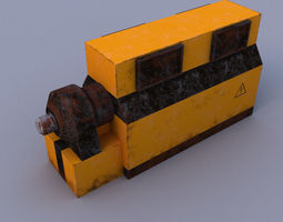 Power Generator 3D asset