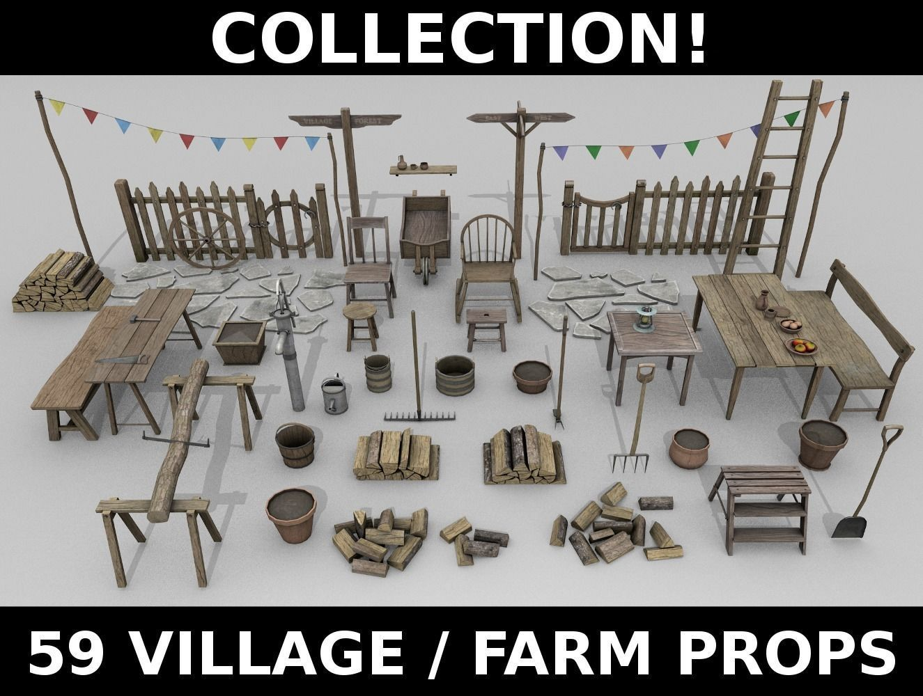 Village Props