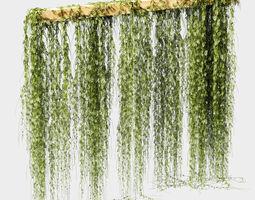 3D model Plant leaf partition or screen