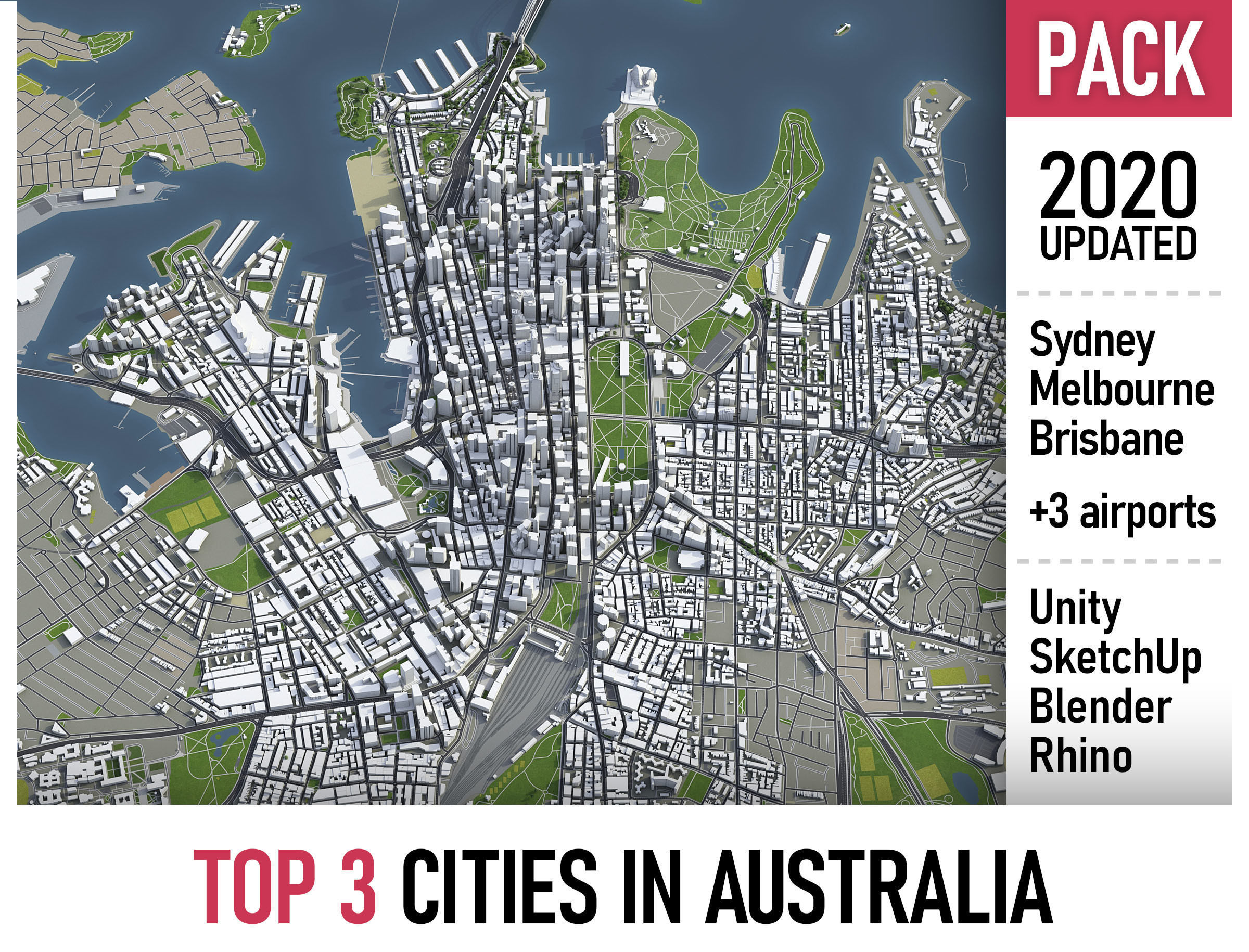 Top 3 Cities in Australia