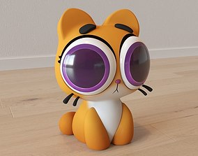 3D Cartoon Cat Taffi