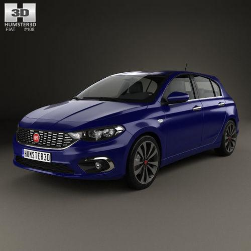 Fiat Tipo hatchback 2017