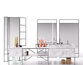 R I G Modules - Bathroom with Decor Set 01 3D model