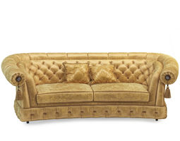 Sofa classic model 3d rigged