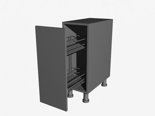 3D Kitchen Cabinet | CGTrader