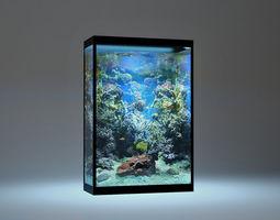 Modern Aquarium 3D model