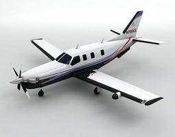 Socata TBM 700 Aircraft 3D asset