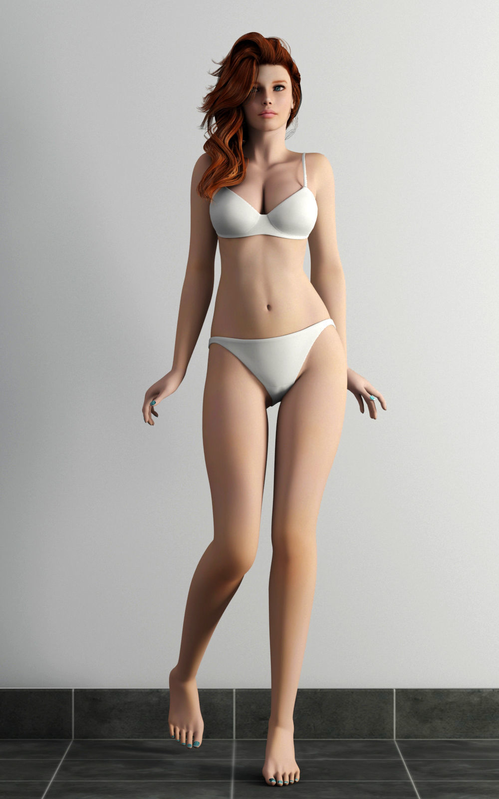 model Bikini military