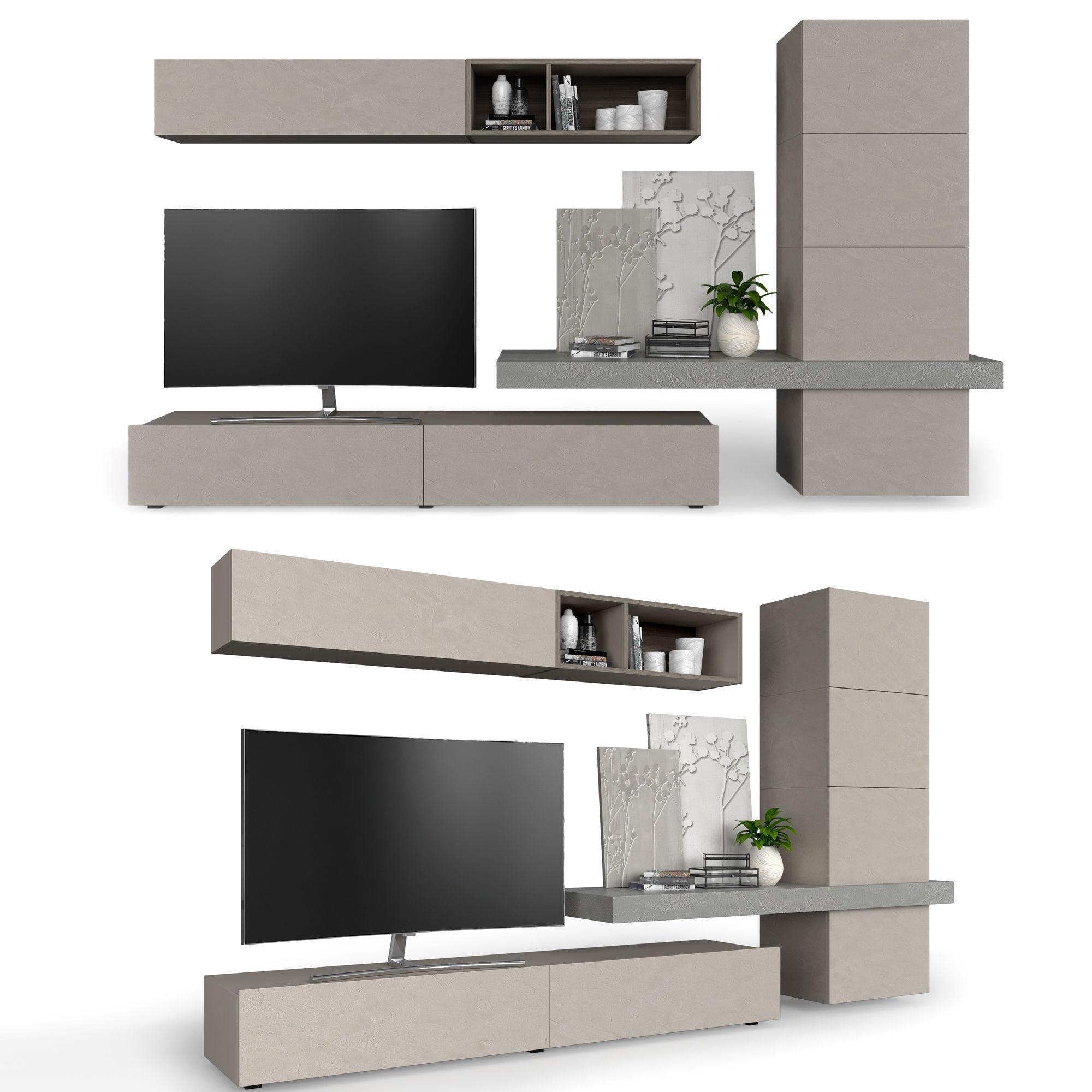 Living room furniture SANTALUCIA MOBILI | 3D model