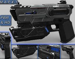 Plasma Gun Concept MAP X1 3D