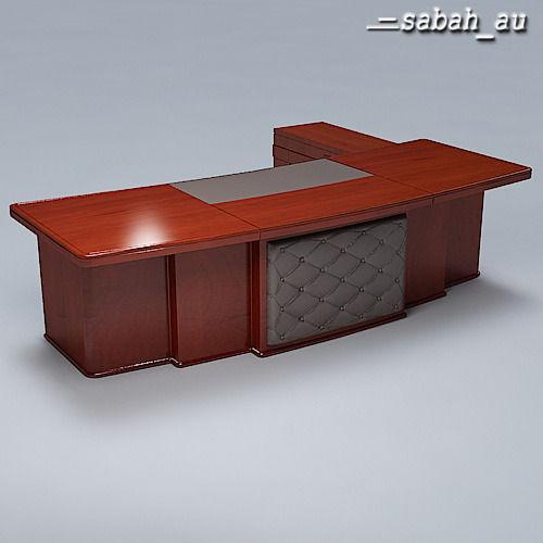 Executive Desk 013D model