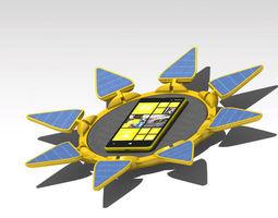 3D model Sunflower pad concept