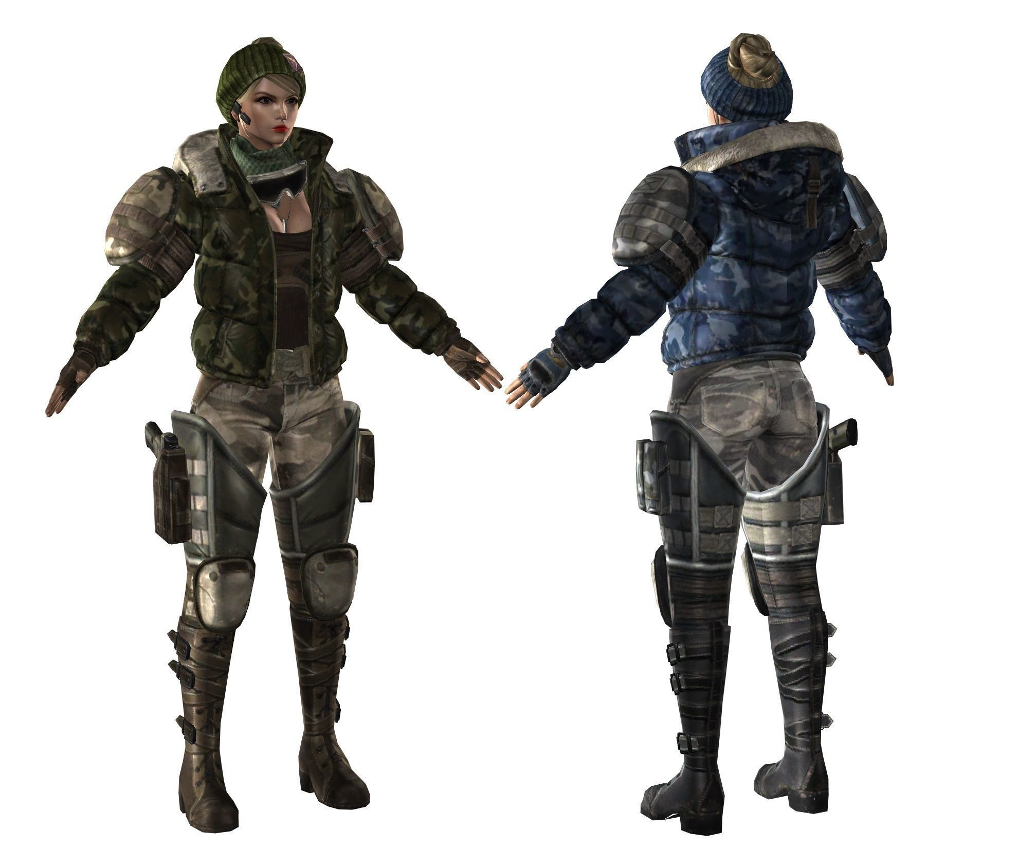 Character gameready 07 - max fbx tga | 3D model