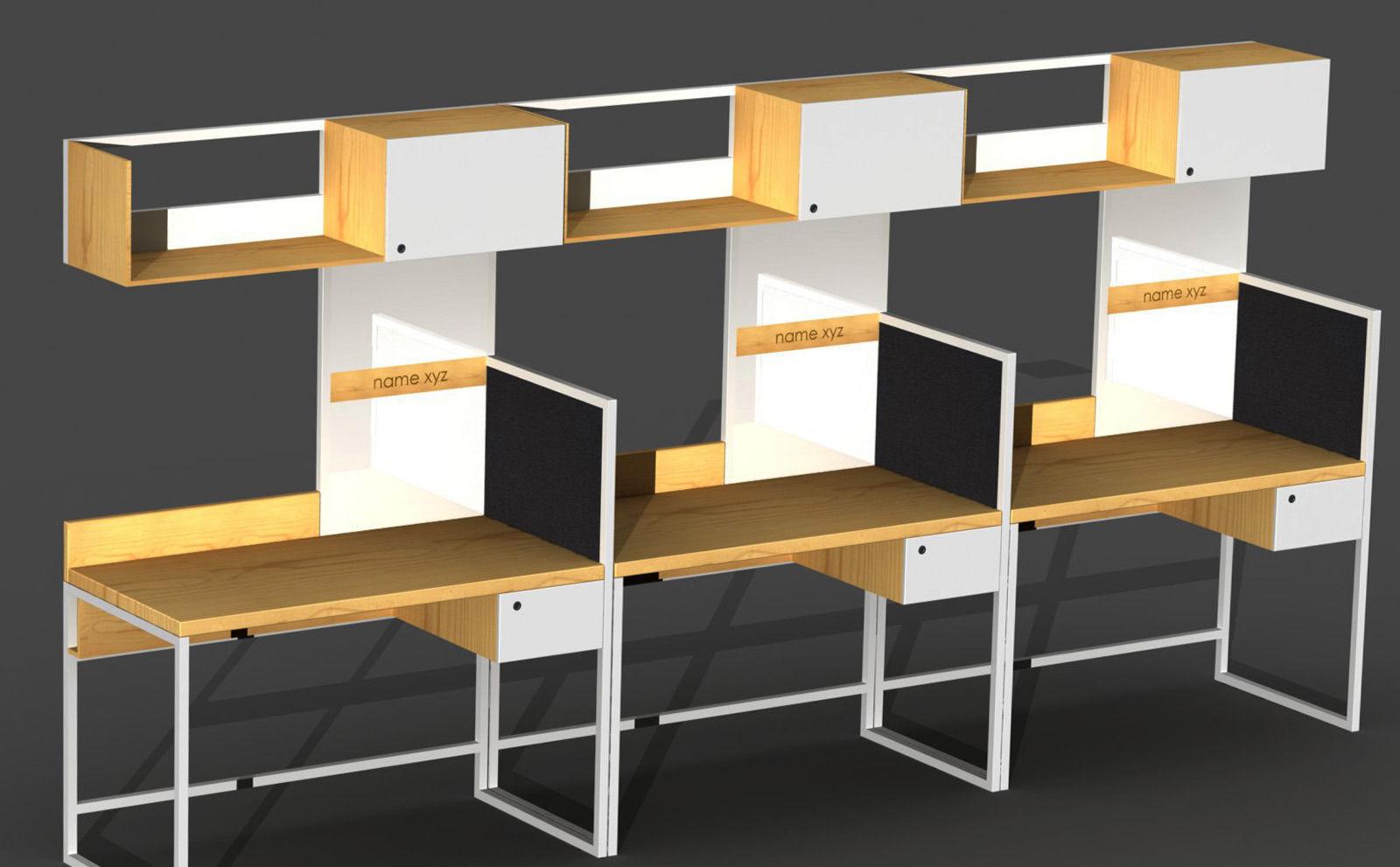 office workstation designs. Office Workstation Design 3d Model Sldprt Sldasm Slddrw Designs T