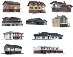 Cottage Collection 03 3D