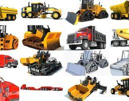 Roadworks Collection 3D Models