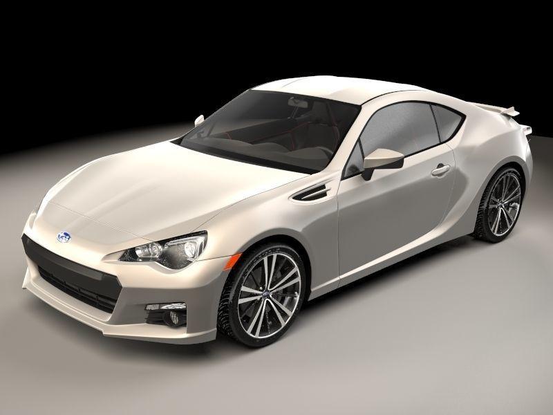 3D model concept Subaru BRZ | CGTrader