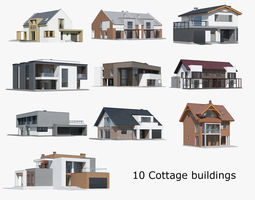 3D Cottage Collection 01