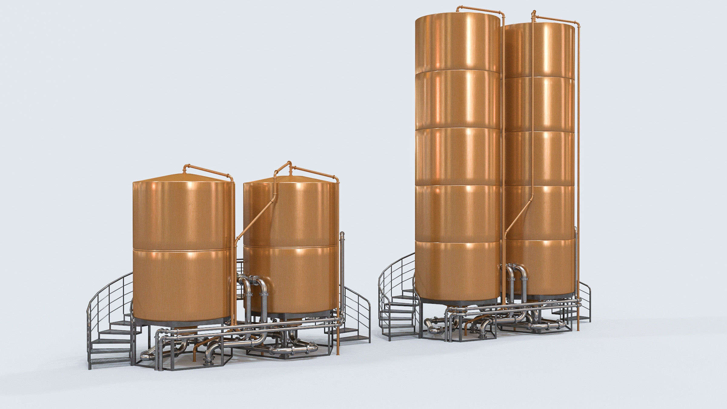 beer tanks for brewery and bar entourage