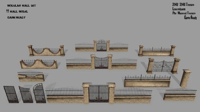 wall set