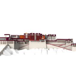 Potala Palace Lahsa 3D