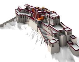 Potala Palace Lahsa 3D model