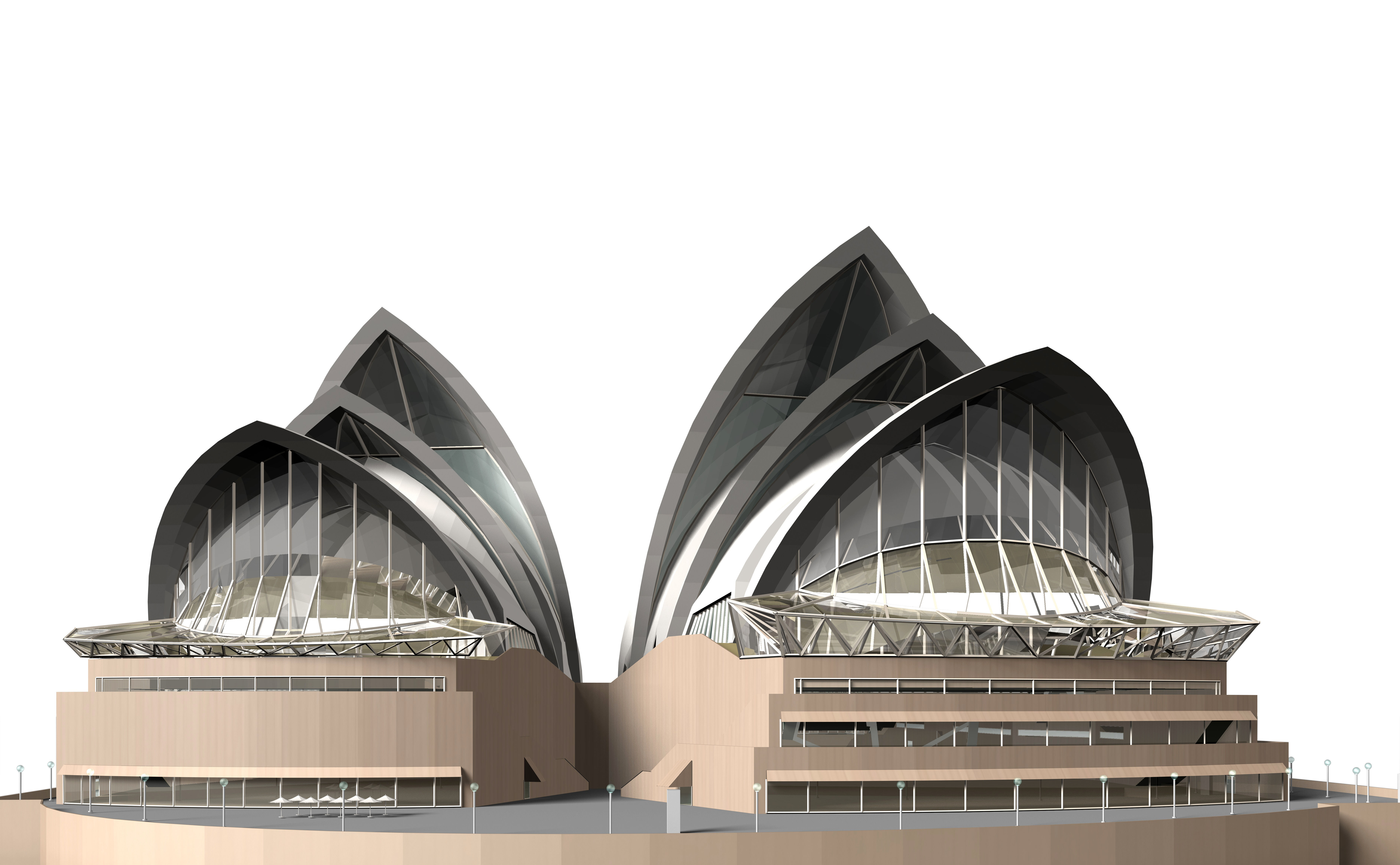 Sydney Opera House Sketchup Model