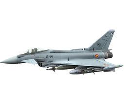 3D Eurofighter Typhoon Spanish versions