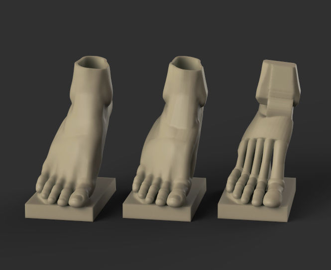 Foot Reference 2 Part2 3d Model 3d Printable Stl
