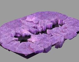 Battlestar - Icefield - Bursting Ice 02 3D