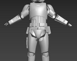3D printable model Star Wars TLJ First Order Executioner 3