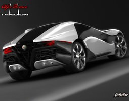 3D model Alfa Pandion STD MAT