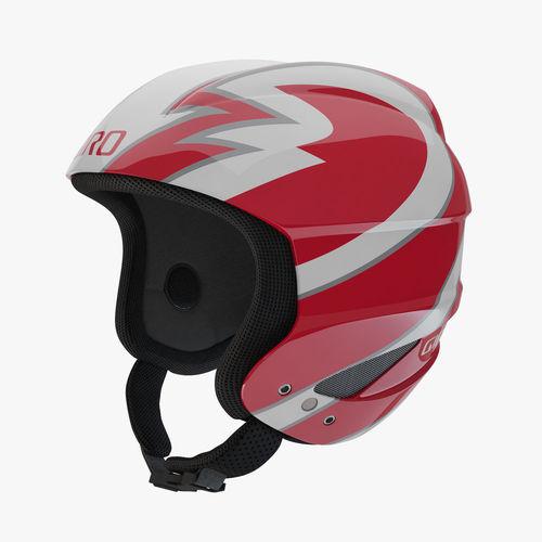 giro sestriere helmet red 3d model max obj mtl fbx 1