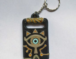 Sheikah slate Keychain version 3D printable model