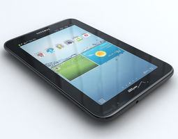 Samsung Galaxy Tab 2 7 inch  I705 3D Model
