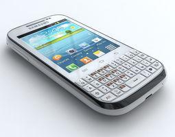 Samsung Galaxy Chat B5330 3D Model