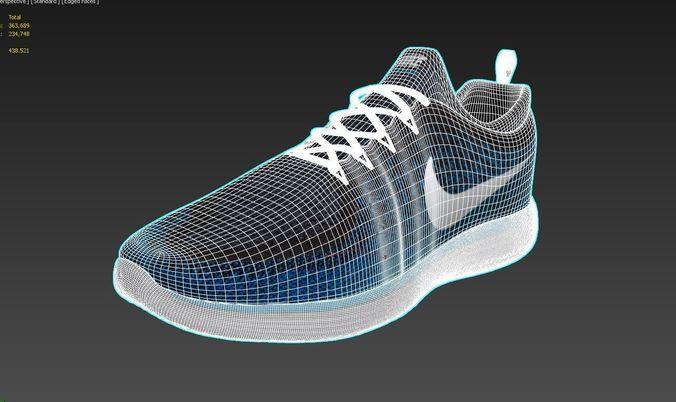 Nike Free Distance 2 3D model 15c7b139f