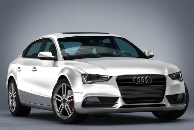 Audi A5 Sportback 2012 3d Model Sport Cgtrader