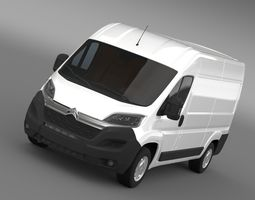 Citroen Jumper Van L2H2 2017 3D model