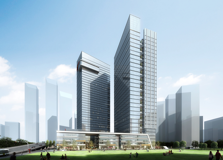... skyscraper office building 3d model max tga 4 ...