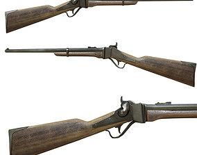 3D model Carbine Sharps 1853