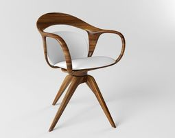 3D model Giorgetti Norah Chair