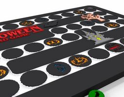 Halloween Board Game Cubic Version 3D print model