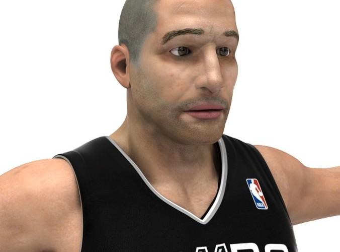 Rigged Basketball Players Nba Pack 3d Model Rigged Max