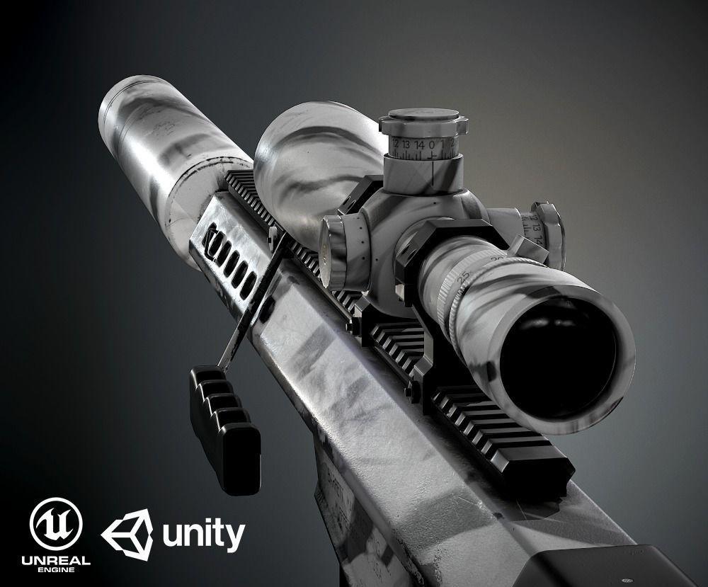 Barret M82A1 PBR