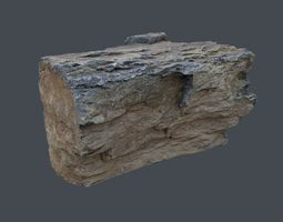 Stone Andesite a1 3D asset